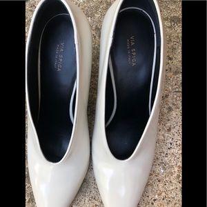 Via Spiga Shoes - VIA SPIGA Women's Baran Block Heel Pump Size 40